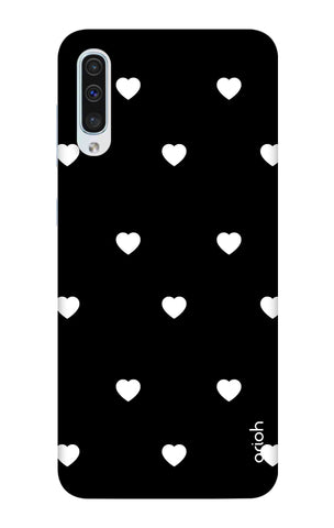 White Heart Samsung Galaxy A50 Cases & Covers Online