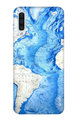World Map Samsung Galaxy A50 Cases & Covers Online
