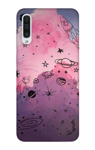 Space Doodles Art Samsung Galaxy A50 Cases & Covers Online