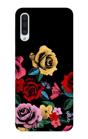 Colorful Flowers Samsung Galaxy A50 Cases & Covers Online