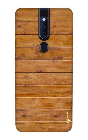 Natural Wood Oppo F11 Pro Cases & Covers Online
