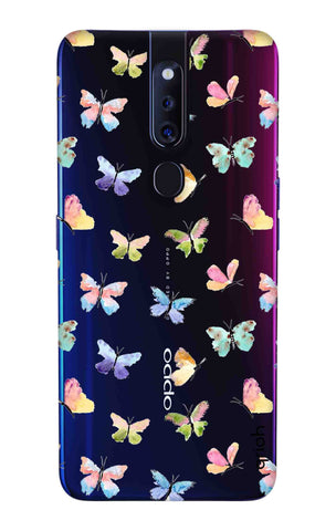 Painted Butterflies Oppo F11 Pro Cases & Covers Online