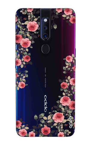 Floral French Oppo F11 Pro Cases & Covers Online
