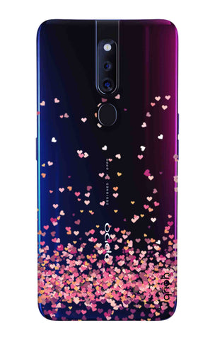 Cluster Of Hearts Oppo F11 Pro Cases & Covers Online
