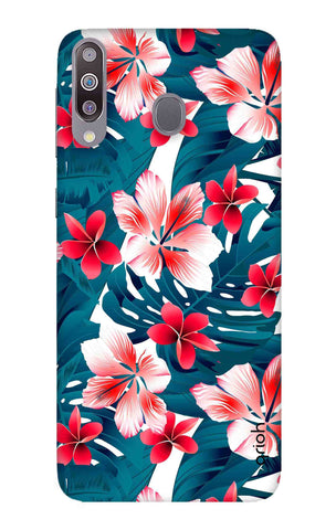 Floral Jungle Samsung Galaxy M30 Cases & Covers Online