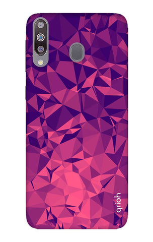 Purple Diamond Samsung Galaxy M30 Cases & Covers Online