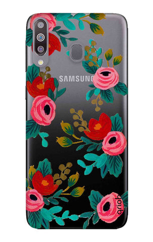 Red Floral Samsung Galaxy M30 Cases & Covers Online