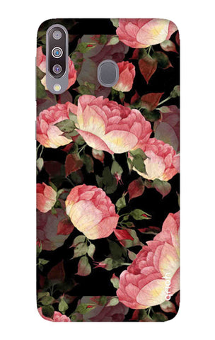 Watercolor Roses Samsung Galaxy M30 Cases & Covers Online