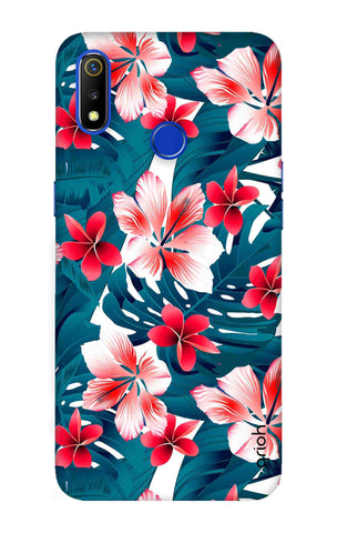 Floral Jungle Realme 3 Cases & Covers Online