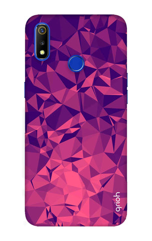 Purple Diamond Realme 3 Cases & Covers Online