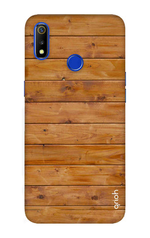 Natural Wood Realme 3 Cases & Covers Online