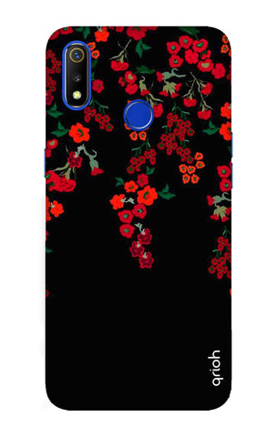 Floral Deco Realme 3 Cases & Covers Online