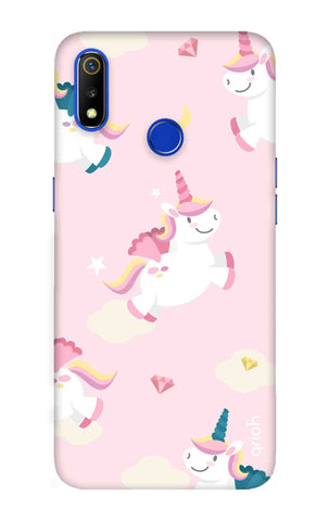 Flying Unicorn Realme 3 Cases & Covers Online