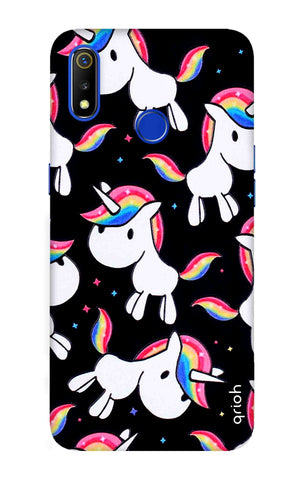 Colourful Unicorn Realme 3 Cases & Covers Online