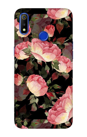 Watercolor Roses Realme 3 Cases & Covers Online