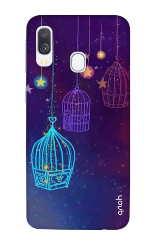 Cage In The Dark Samsung Galaxy A40 Cases & Covers Online