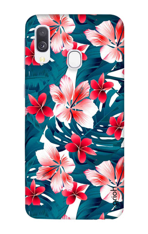 Floral Jungle Samsung Galaxy A40 Cases & Covers Online