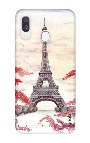 Eiffel Art Samsung Galaxy A40 Cases & Covers Online