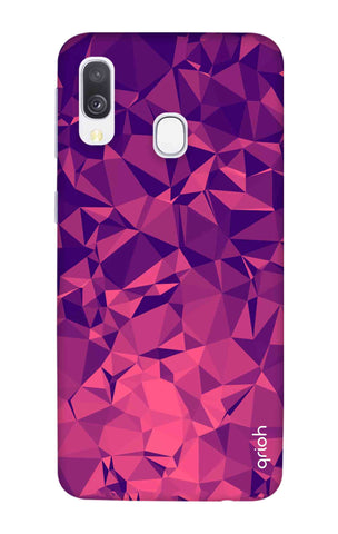 Purple Diamond Samsung Galaxy A40 Cases & Covers Online