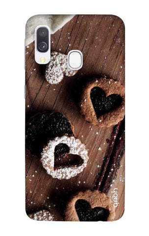 Heart Cookies Samsung Galaxy A40 Cases & Covers Online