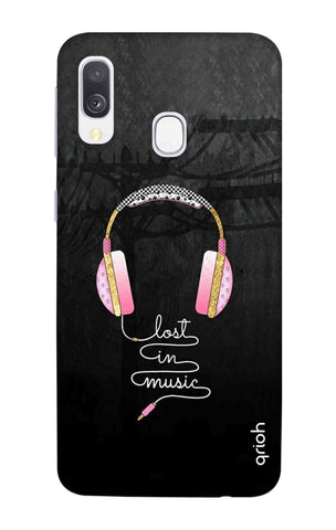 Lost In Music Samsung Galaxy A40 Cases & Covers Online