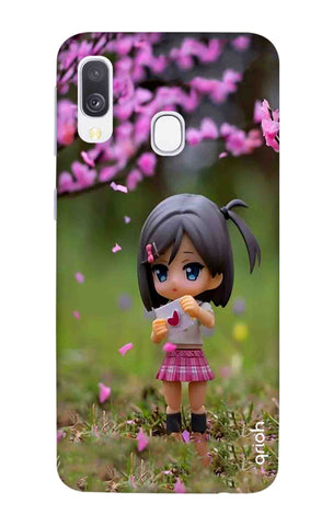 Cute Girl Samsung Galaxy A40 Cases & Covers Online