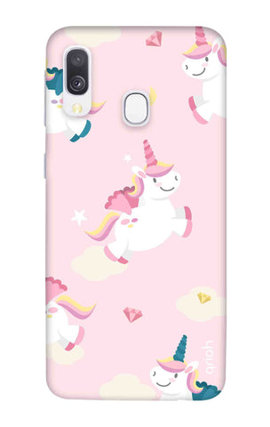 Flying Unicorn Samsung Galaxy A40 Cases & Covers Online