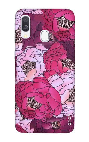 Vector Floral Samsung Galaxy A40 Cases & Covers Online