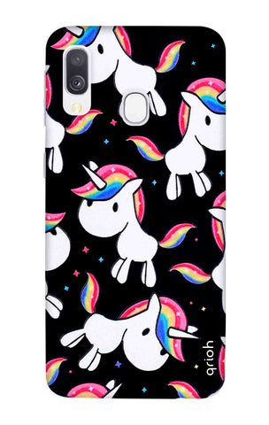 Colourful Unicorn Samsung Galaxy A40 Cases & Covers Online
