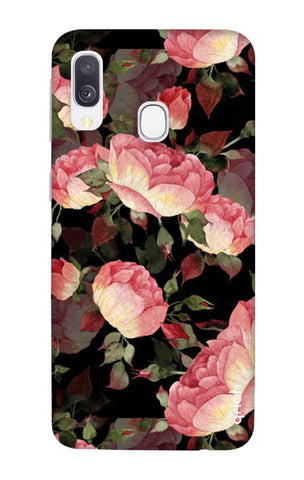 Watercolor Roses Samsung Galaxy A40 Cases & Covers Online