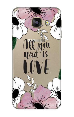 All You Need is Love Samsung A3 2016 Cases & Covers Online
