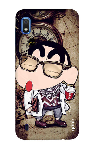 Nerdy Shinchan Samsung Galaxy A10 Cases & Covers Online