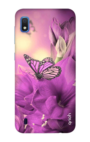 Purple Butterfly Samsung Galaxy A10 Cases & Covers Online