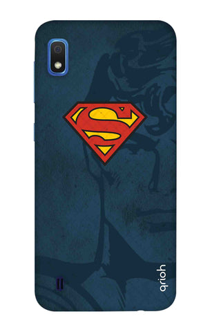 Wild Blue Superman Samsung Galaxy A10 Cases & Covers Online