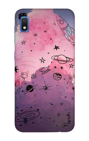 Space Doodles Art Samsung Galaxy A10 Cases & Covers Online