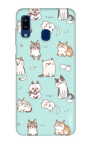Cat Kingdom Samsung Galaxy A20 Cases & Covers Online