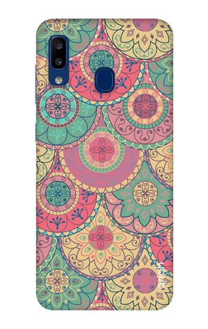 Colorful Mandala Samsung Galaxy A20 Cases & Covers Online