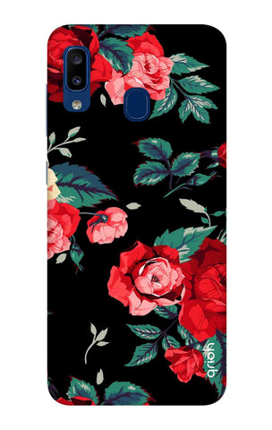 Wild Flowers Samsung Galaxy A20 Cases & Covers Online