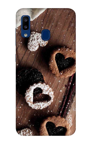 Heart Cookies Samsung Galaxy A20 Cases & Covers Online