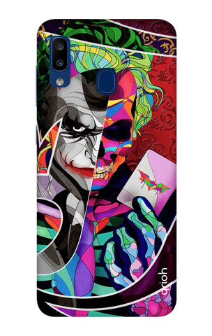 Color Pop Joker Samsung Galaxy A20 Cases & Covers Online