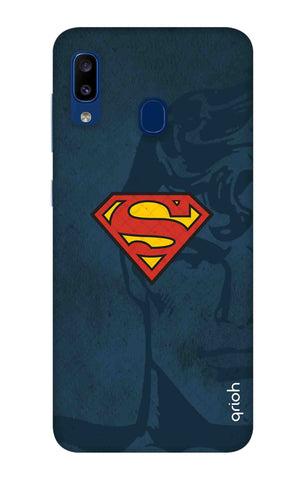 Wild Blue Superman Samsung Galaxy A20 Cases & Covers Online