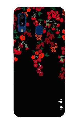 Floral Deco Samsung Galaxy A20 Cases & Covers Online