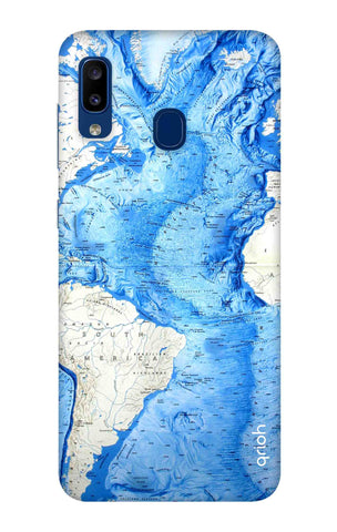 World Map Samsung Galaxy A20 Cases & Covers Online