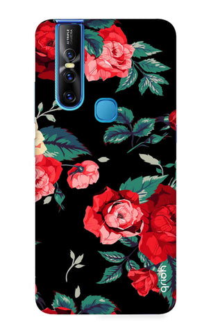 Wild Flowers Vivo V15 Cases & Covers Online