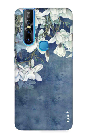 White Flower Vivo V15 Cases & Covers Online