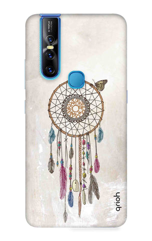 Butterfly Dream Catcher Vivo V15 Cases & Covers Online