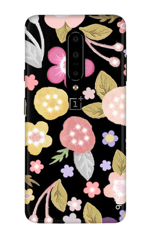 Multi Coloured Bling Floral OnePlus 7 Pro Cases & Covers Online