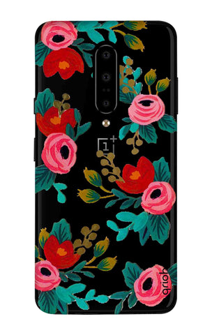 Red Floral OnePlus 7 Pro Cases & Covers Online