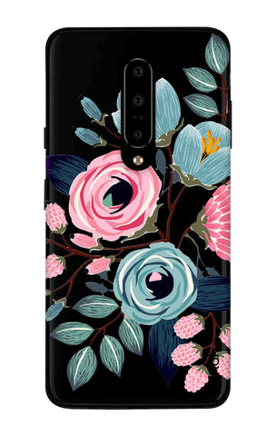 Pink And Blue Floral OnePlus 7 Pro Cases & Covers Online