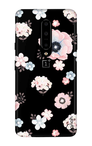 Beautiful White Floral OnePlus 7 Pro Cases & Covers Online